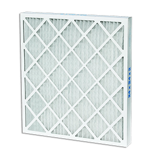 MERV 8 & 10 Wire Back Pleated Air Filters